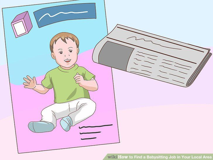 How to Find a Babysitting Job in Your Local Area: 4 Steps