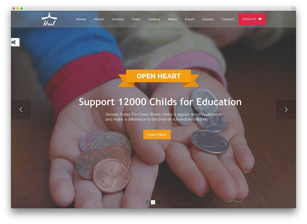 17 Best WordPress Themes For Non-Profit, Charity Organizations ...