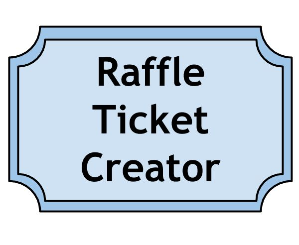 10 Best Images of Make Your Own Raffle Tickets - Make Your Own ...