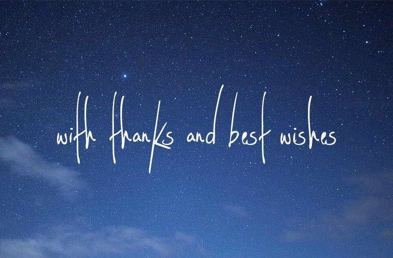 Thanks and best wishes in 2016 – artful words