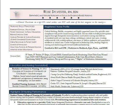 nurse-resume-sample-mini - Nurse Resume Service | Certified, Award ...