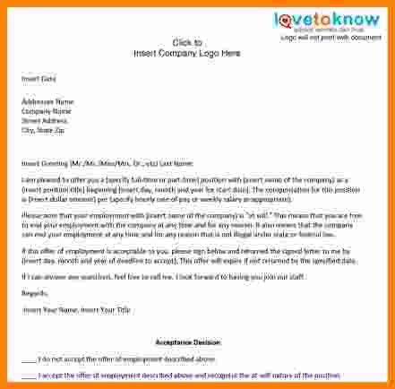 6+ template for offer letter for employment | ledger paper