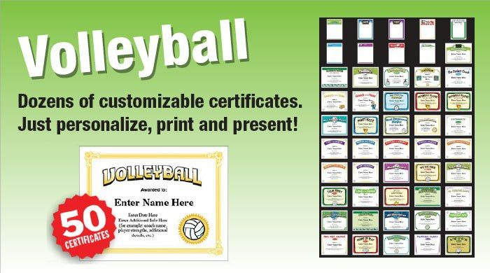 Sports Certificates Templates for baseball, basketball, football ...