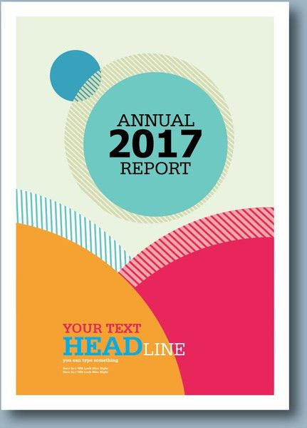 Annual report cover template free vector download (15,859 Free ...