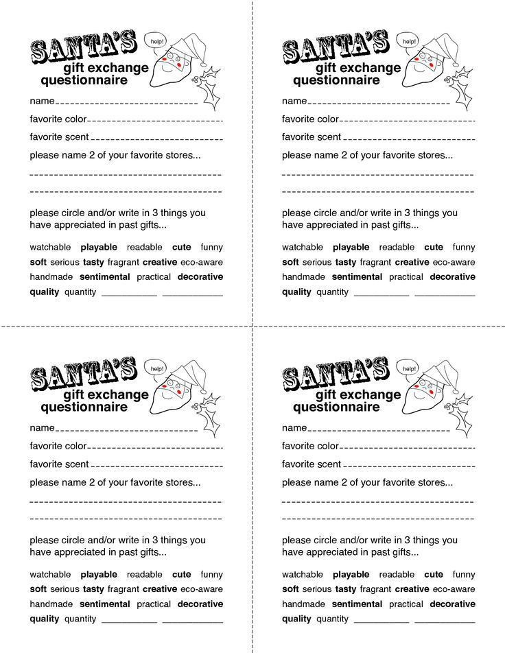 Best 25+ Secret santa questionnaire ideas on Pinterest | Secret ...