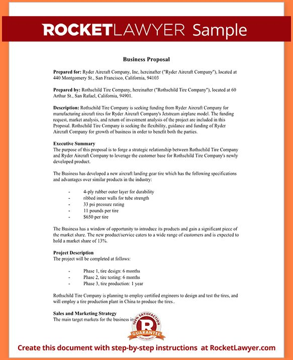 5+ download business proposal | Project Proposal