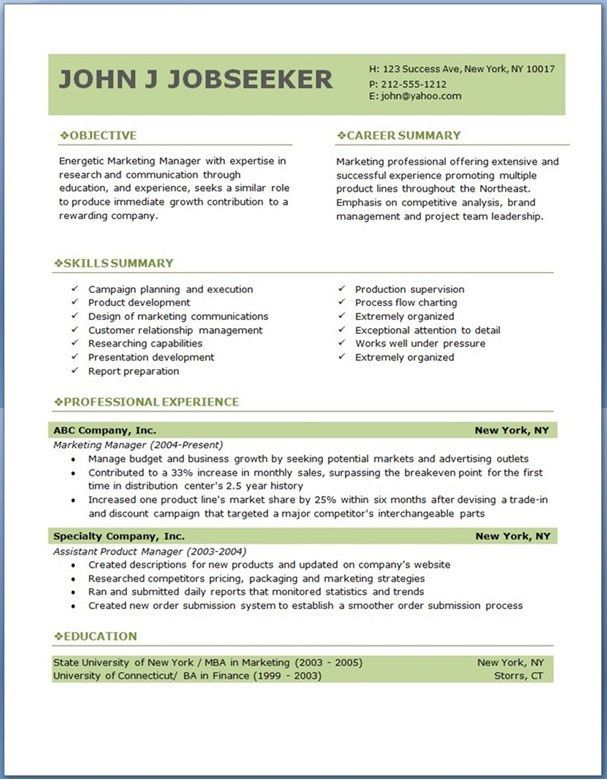 Resume Examples. download professional resume templates best in ...