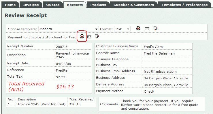 Invoice Place blog » How to create a paid invoice