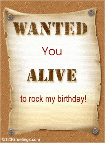 Birthday Invitation Card. Free Birthday eCards, Greeting Cards ...