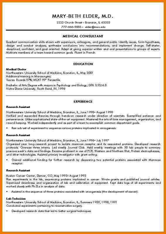 Medical School Resumes. high school resume examples resume for a ...