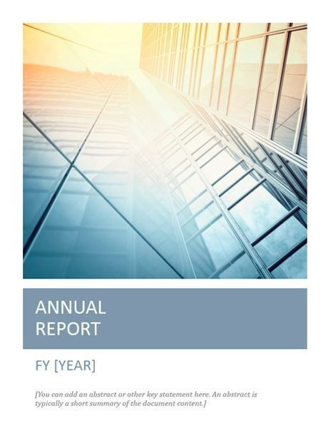 Annual report with cover photo (Timeless design)   Scribe ...