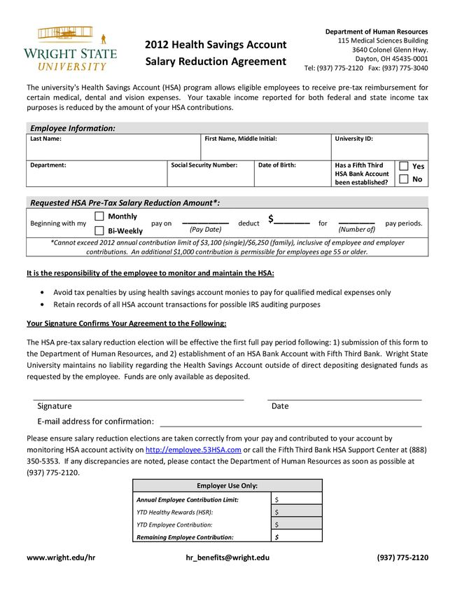 10 Best Images of Employee Salary Agreement Form - Salary ...