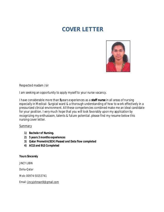 Jincy CV for Staff Nurse