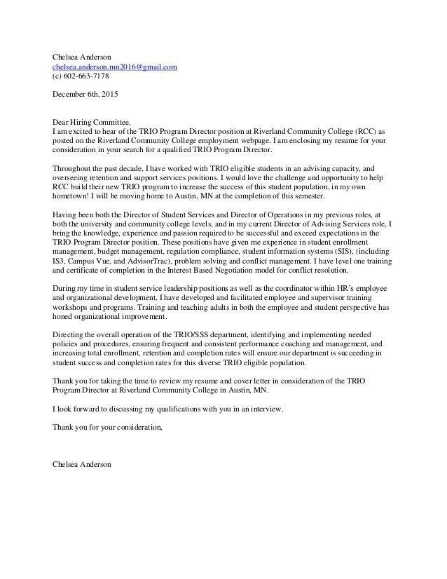 ChelseaAnderson2015.Cover Letter. TRIO Director (2)