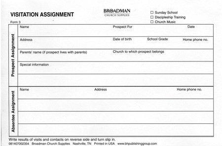 Application for Church Membership (Form ACM-5) - B&H Publishing Group