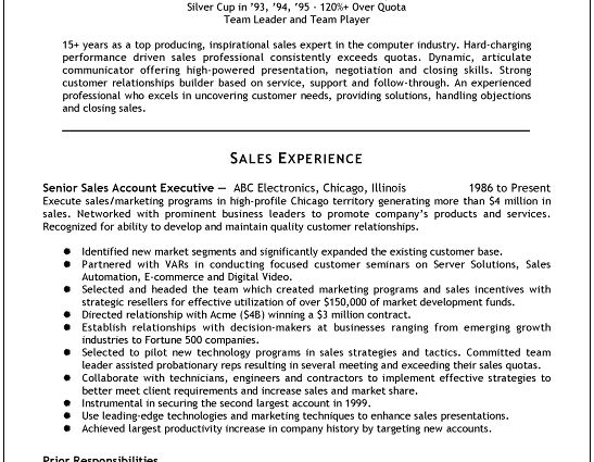 pharmaceutical sales resume examples ...