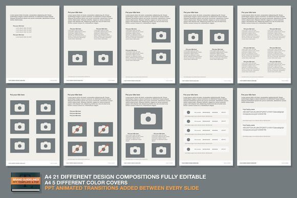 PPT Brand Guidelines Template | brand guide | Pinterest | Brand ...