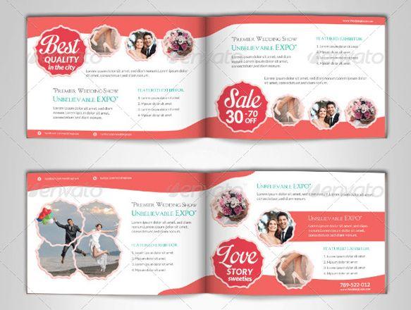 10+ Beautiful Wedding brochure templates – PSD, EPS, AI, InDesign ...