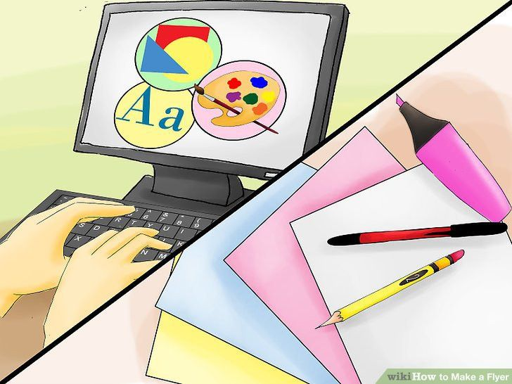 How to Make a Flyer (with 3 Sample Flyers) - wikiHow