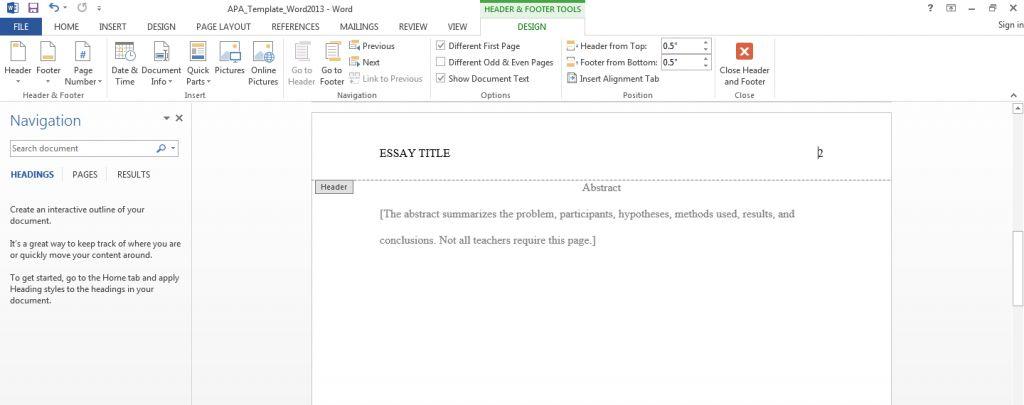 Apa Format Template Mac. blank apa format template virtren com ...