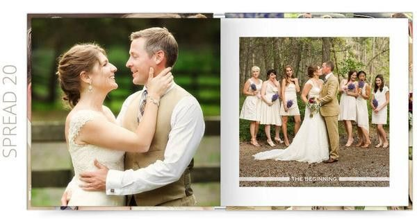 Wedding Album Photoshop Template | Wedding | The Album Cafe