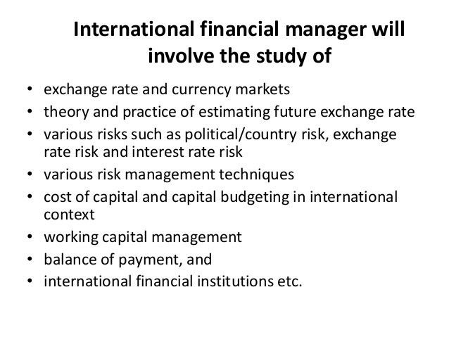 international financial management thesis Professor geert bekaert empirical asset pricing and portfolio management his thesis won he is the author of a textbook on international financial management.