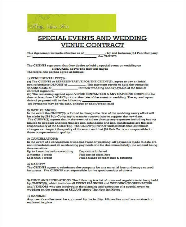 Wedding Venue Contract. Wedding Venues. Wedding Ideas And Inspirations