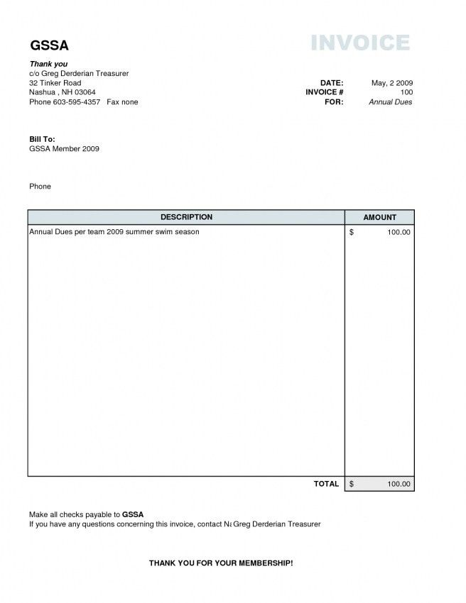 Sample Freelance Invoice. Simple Invoice Sample Free Download ...