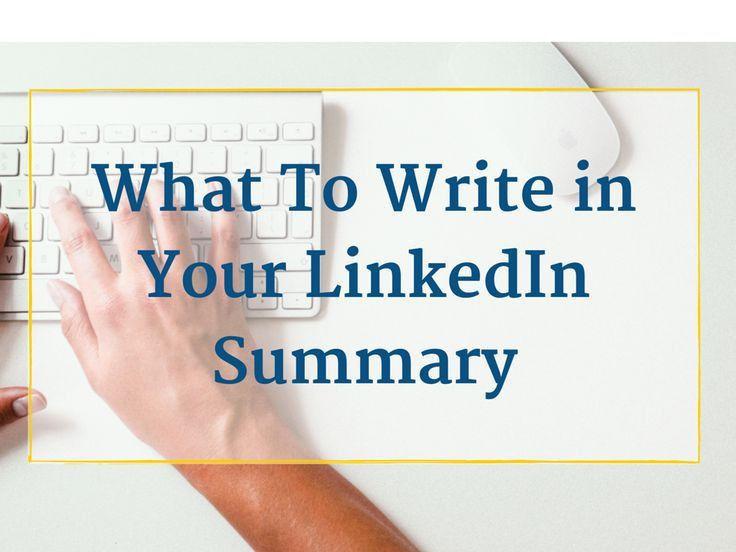 Best 25+ Linkedin summary ideas on Pinterest | Linkedin careers ...