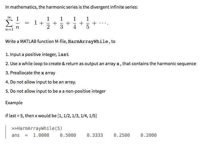 In Mathematics, The Harmonic Series Is The Diverge... | Chegg.com