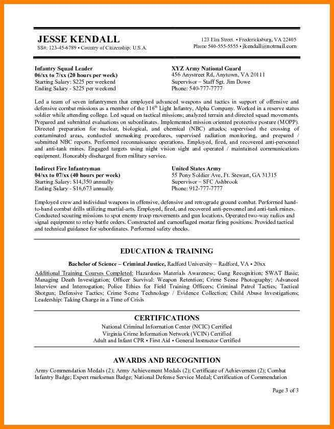 Usajobs Resume Template. Examples Of Federal Resumes | Resume ...