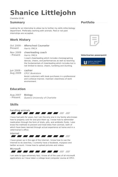 School Counselor Resume samples - VisualCV resume samples database