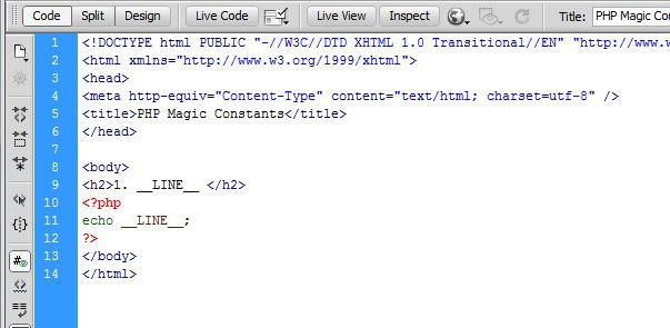 PHP Magic Constants: Usage and Debugging with Examples - TutorialChip