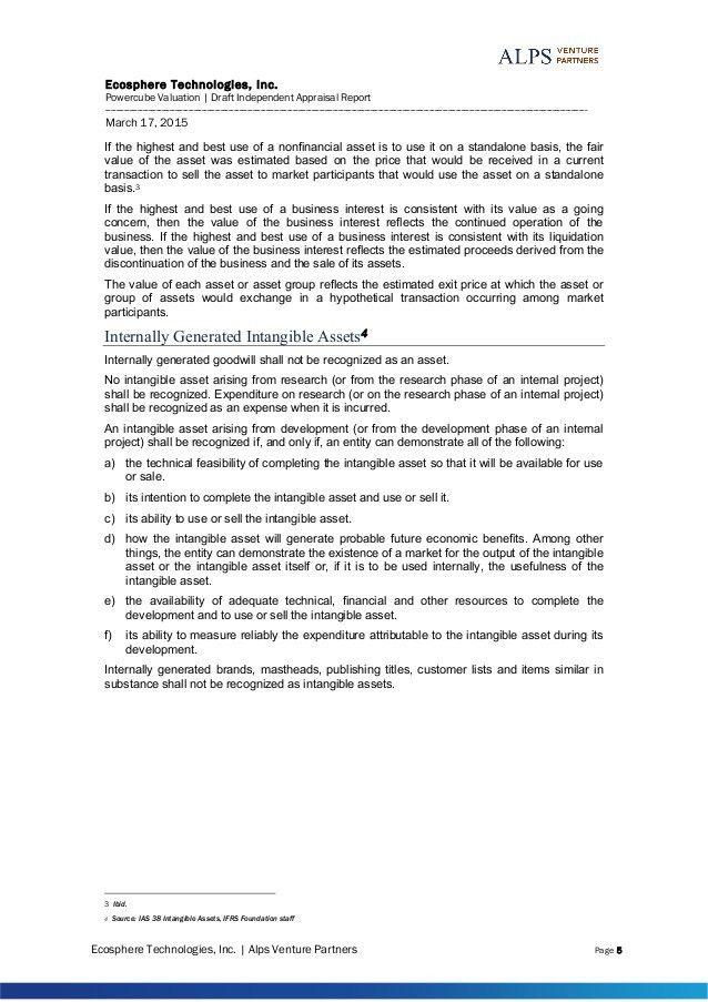 Intellectual Property - Sample Report