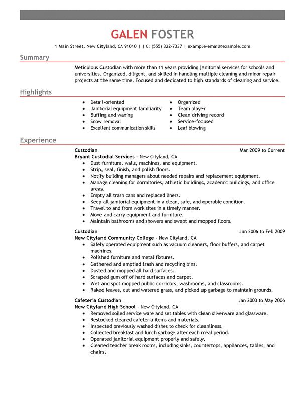 Best Cleaning Professionals Cover Letter Examples | LiveCareer