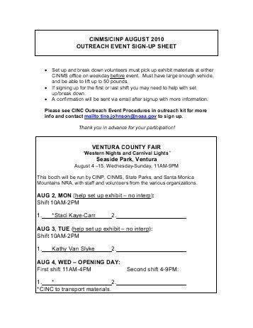 Customer Appreciation Event Sign-Up Form ... - ChamberMaster