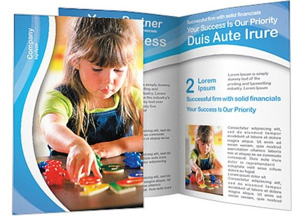 18+ Preschool Brochures - Free PSD, AI, EPS Format Download   Free ...