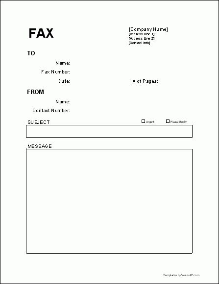 Useful Free Fax Cover Sheet Template for those of us still using ...