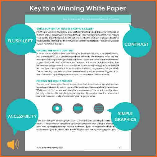 7+ white paper format template - Budget Template Letter