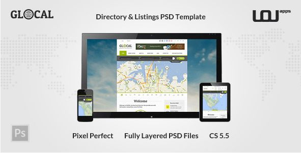 24+ Best Directory PSD Design Templates 2017