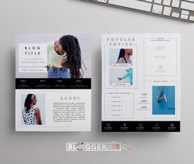 press kit Archives | DIY Media Kit Templates + Blogging Tips ...