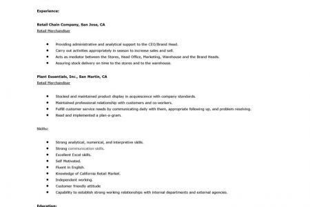 fashion merchandiser cover letter sample. create cover letter ...