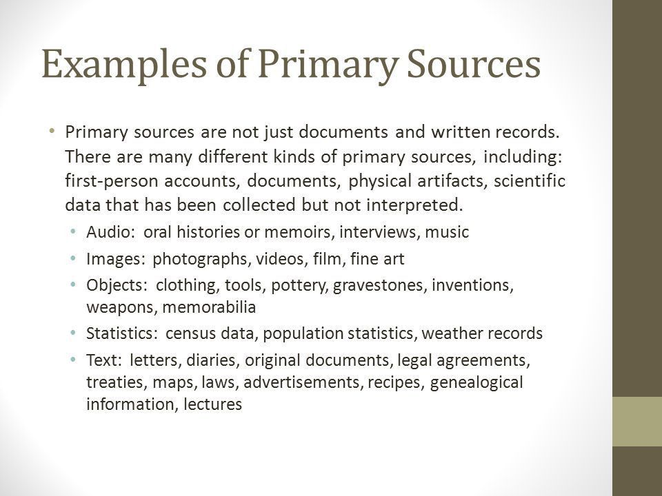 Primary and Secondary Sources 20 th Century History BBS. - ppt ...