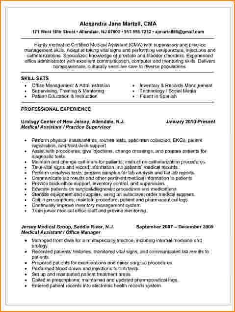 5+ medical assistant skills for resume | bibliography format