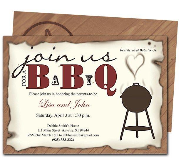barbecue invitation card templates free download - Google Search ...