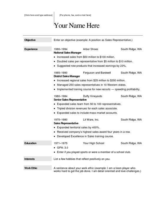 Resume Builder Download Free Resume Builder Download Free, resume ...