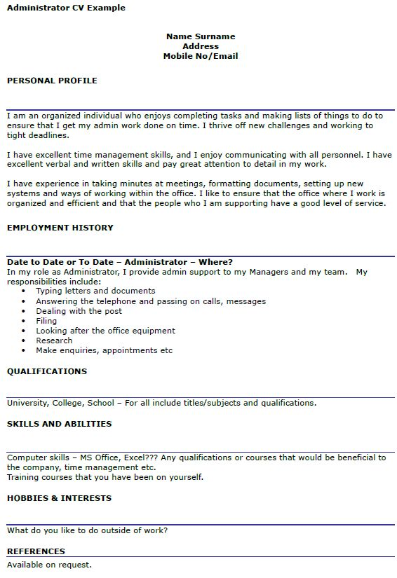 18+ [ Administration Cover Letters ] | Police Officer Cv Example ...