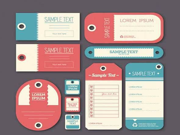 40 Free Label Mockups (PSD & Vector)