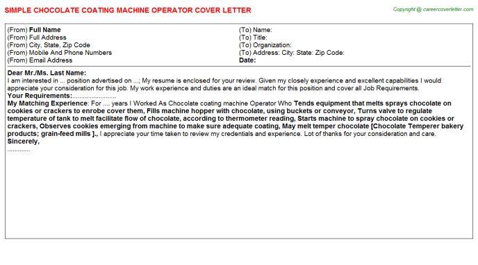 Coca Cola Merchandiser Cover Letters