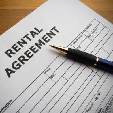 Sample Rental Agreement - Sabin Community Development Corporation